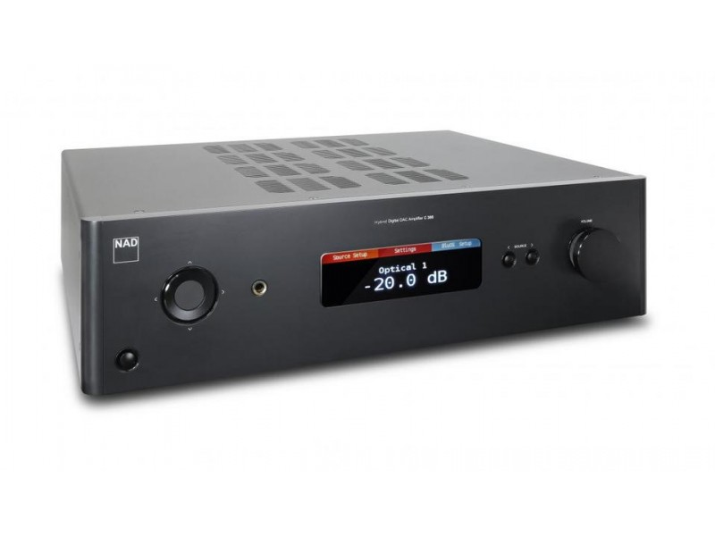 C388 BluOS Hybrid Digital DAC Amplifier
