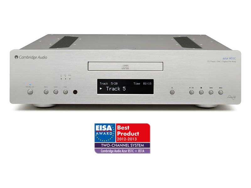 Azur 851C CD predvajalnik, predojačevalec in upsampling DAC