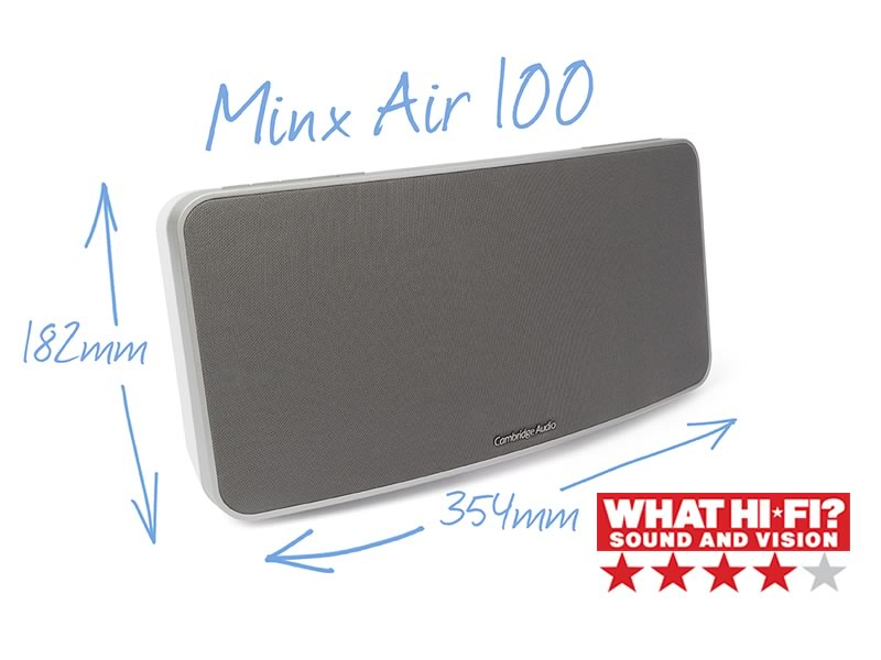 Minx Air 100 brezžični zvočniki Cambridge Audio