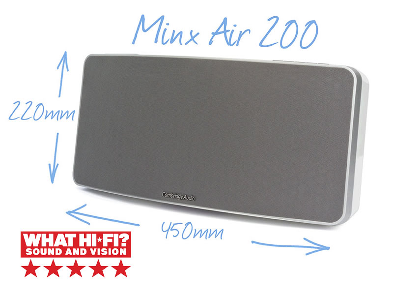 Minx Air 200 brezžični zvočniki Cambridge Audio
