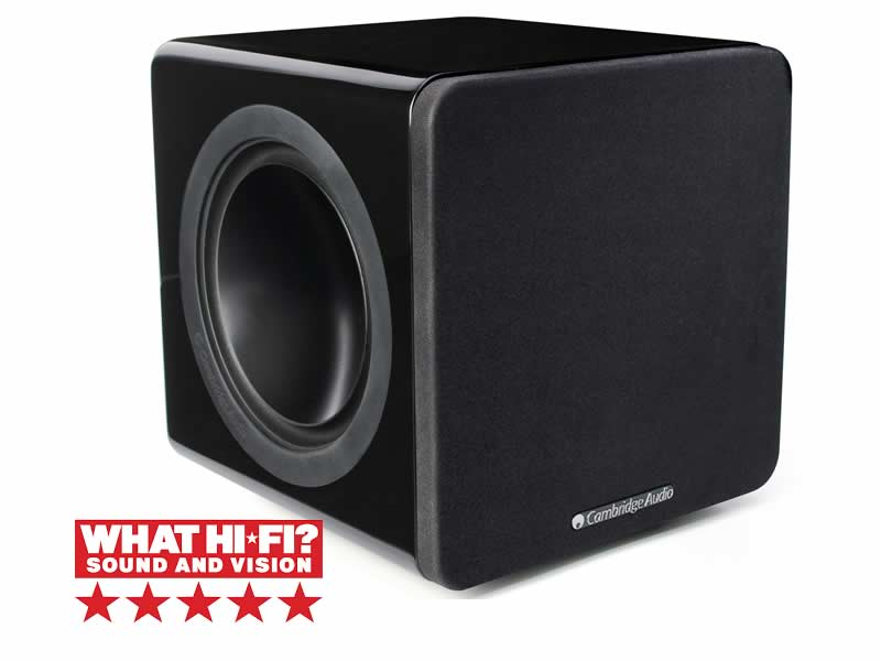 Minx X201 subwoofer Cambridge Audio