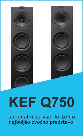 Zvočniki KEF Q750